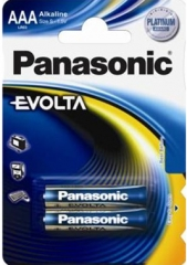 Эл.Пит. Panasonic LR03EGE/2BP EVOLTA PLATIN.(КОМПЛ. 2ШТ)