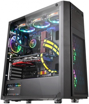 Корпус Thermaltake Versa H26 Tempered Glass /Black